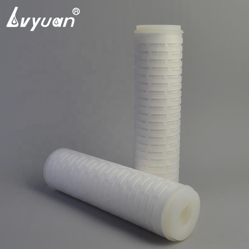 10/20/30/40 inch 10 micron pp pleated micropore filter cartridge for 304 filter cartridge housing
