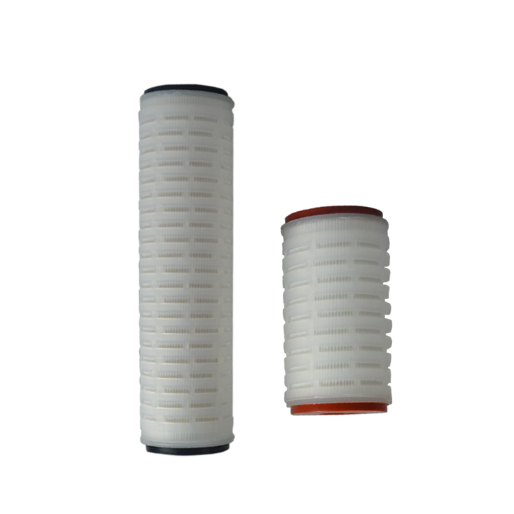 Customized size nylon pleated filter cartridge with high quality