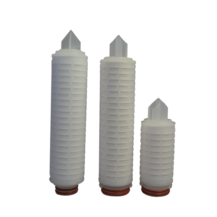 0.22 micron polypropylene PP water filter cartridge pleated membrane filters for water industry treatment