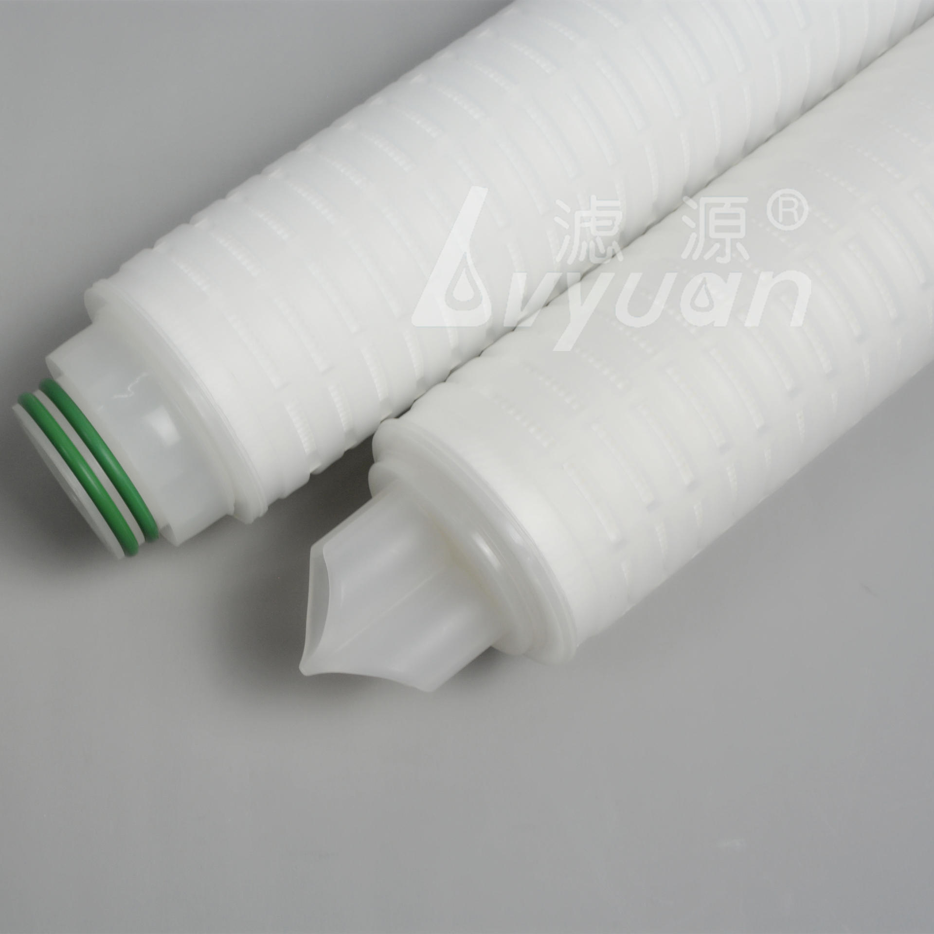 0.45um 5 inch 10 inch Industrial PTFE membrane replacement filter element pleated filter for gas/air filtration