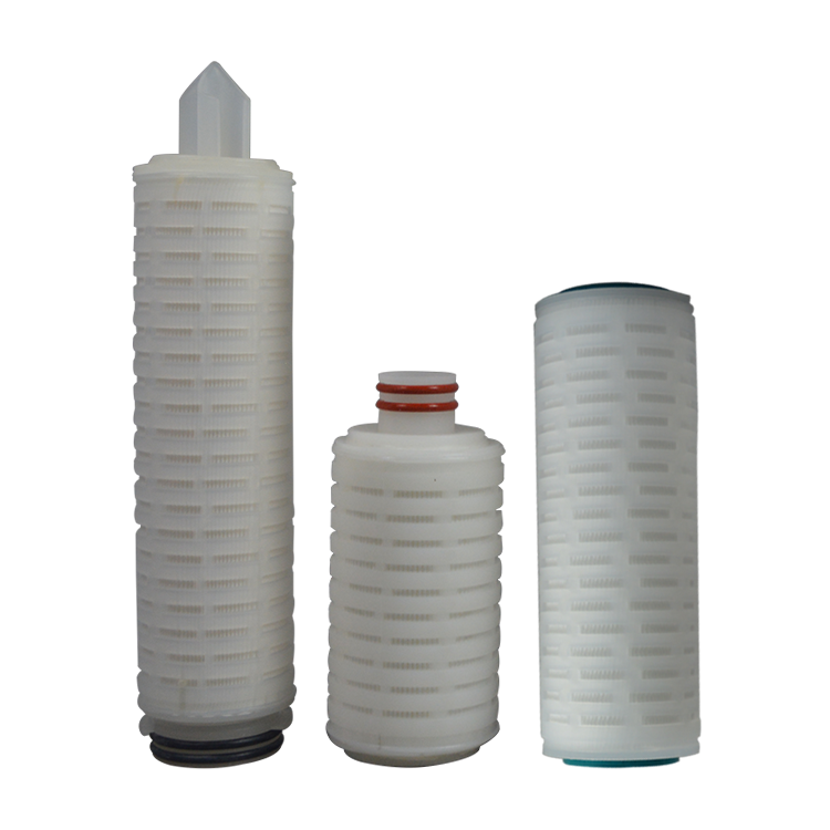 China Factory 30 inch pp pleated filter cartridge