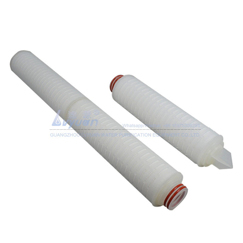 10 20 inch polypropylene 0.2 micron filter element pleated pp cartridge filter with vacuum packing