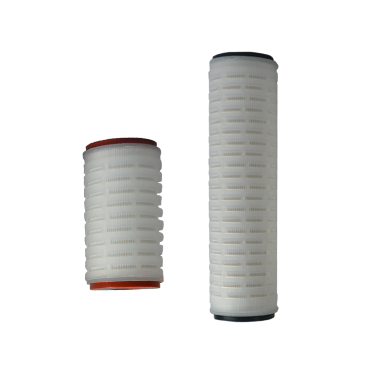 Best quality factory price 10/20/30/40 inch 5 micron pleated polypropylene filter element for drinking pure water filter