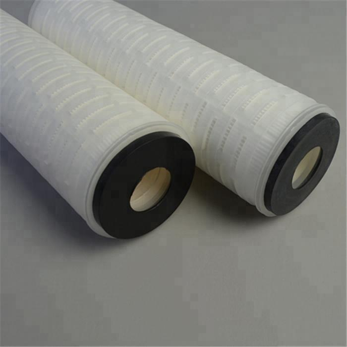 ink filtration 5 micron polypropylene membrane pleated cartridge filter