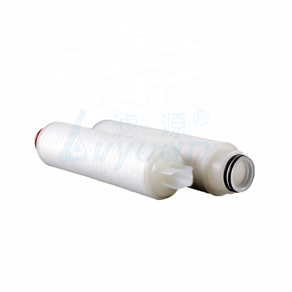 Industrial PP filter polypropylene pleated filter 0.45 micron pleated cartridge for wine beer filtration