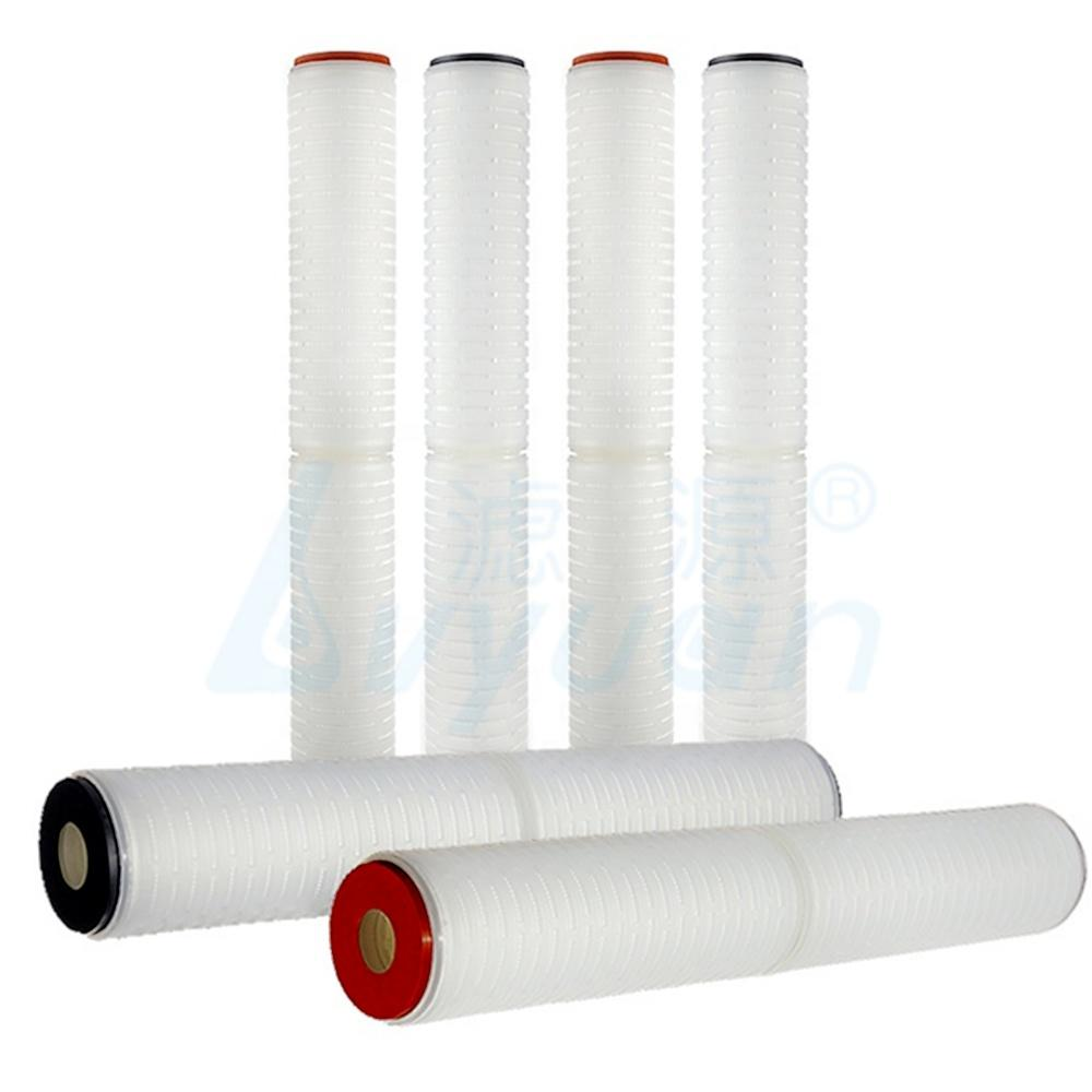 20 inch pp pleated filter cartridge 0.2 micron water filter cartridge for reverse osmosis water system prefiltration