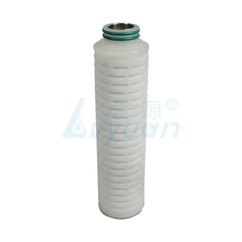 0.22 micron industrial water filter element PES pleated filter cartridge/PES membrane filter cartridges