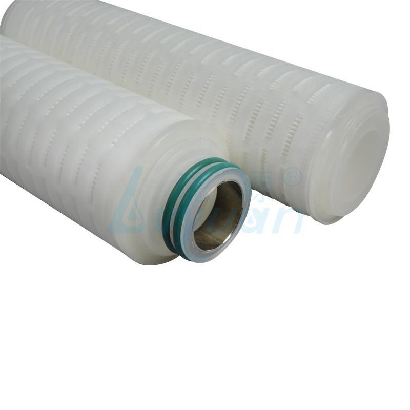 0.2 micron 30 inch pp pleated water cartridge industrial membrane filter cartridge for food and beverage filtration