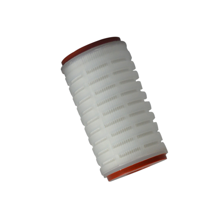 single open end with ear pleated filter cartridge