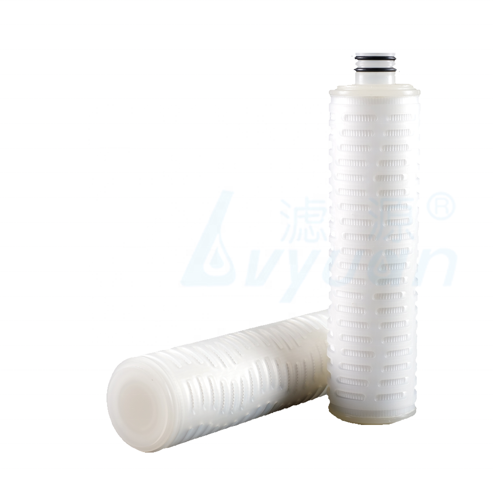 10 inch pp pleated filter/water filter element pp membrane filter for food and beverage filtration 50pcs/box