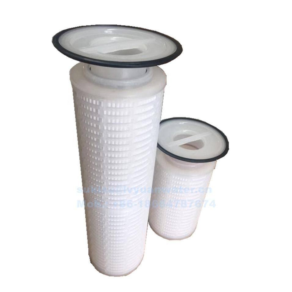 Big Flow 5/10/25/50 micron Pleated PP membrane Bag Cartridge Plating Filter for Chemical nickel industrial liquid treatment