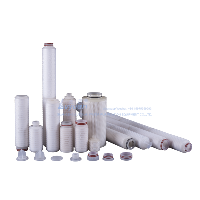 10 20 30 inch Polypropylene membrane pleated 10 micron PP sediment filter cartridge for water filtration
