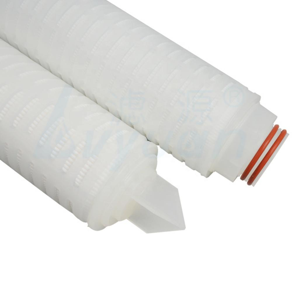 0.22 micron 10 20 30 40 inch water filter element Nylon pleated filter cartridge/membrane filter