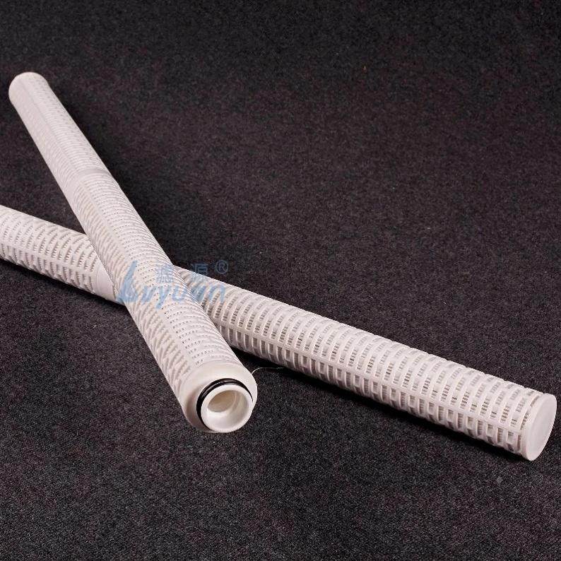 Oil field microporous pleated membrane filters 30 40 inch Folded Glassfiber media Cartridge oil water separator filter Element
