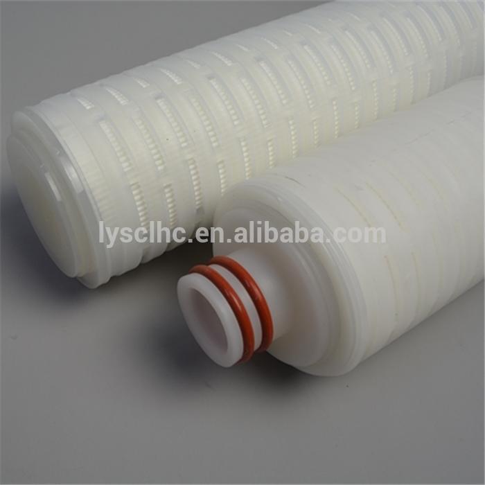pp/ptfe/pes/pvdf pleated micropore membrane filter/cartridge micro filter