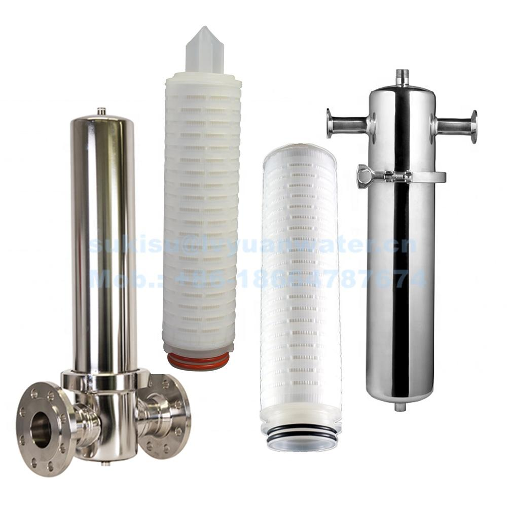 Hydrophobic PTFE filter Cartridge for Compressed Air Purification system