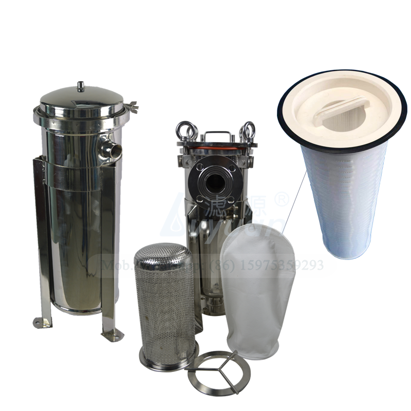 Telescopic filter handle microns filter pleated polypropylene PP bag cartridge filter for SS304 bag housing replace cartridge