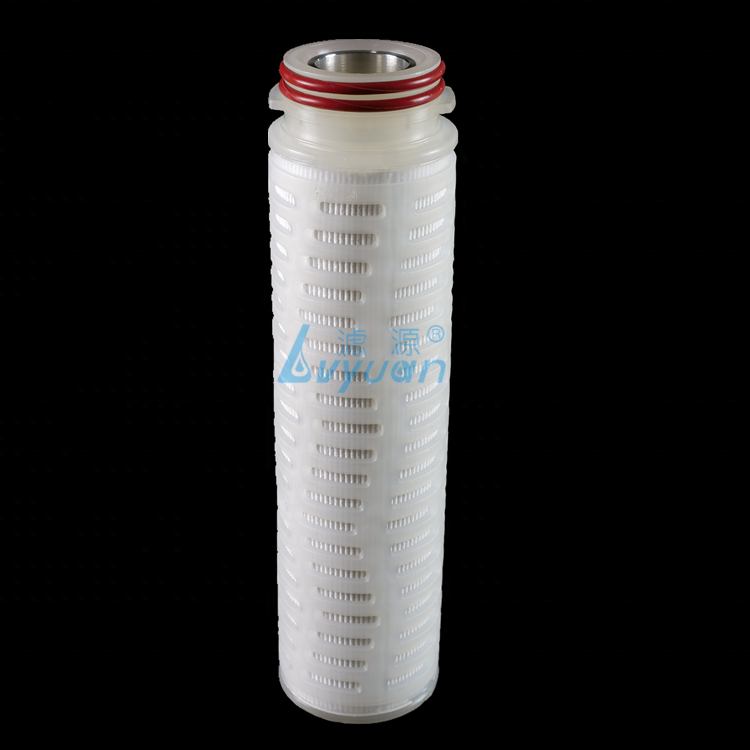 Sediment Filter/0.45 to 50 Micron10 inch pleated Filter Cartridge for water Filtration system