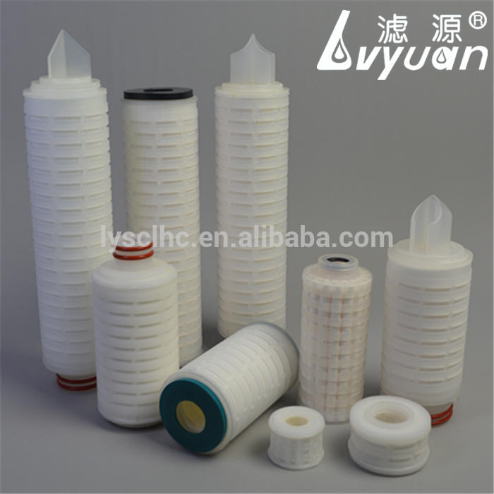 pp/ptfe/pes/pvdf pleated micropore membrane filter/cartridge micro filter