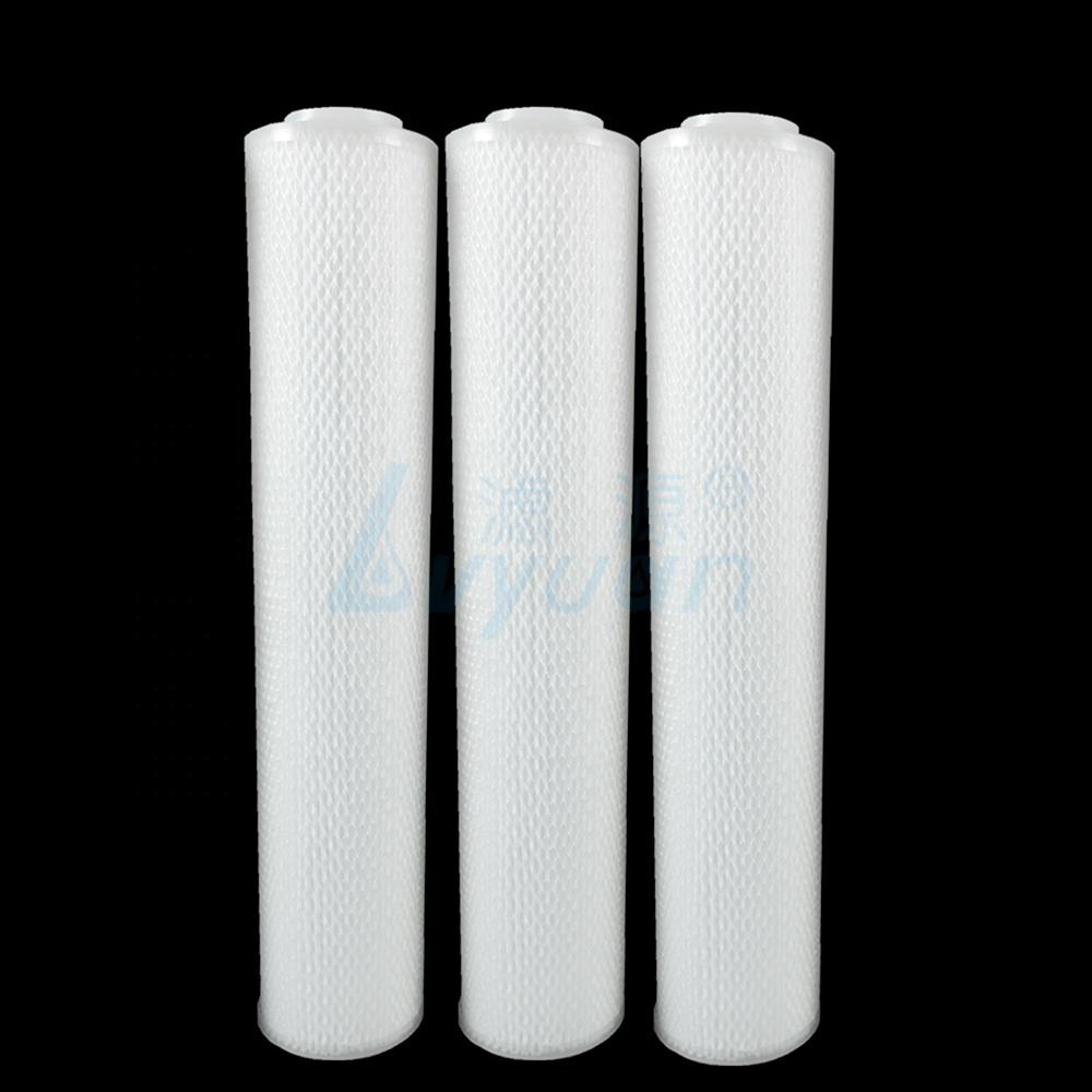 20 inch water pleated cartridge filter jumbo size netting surface with 3fin 222 for water purification