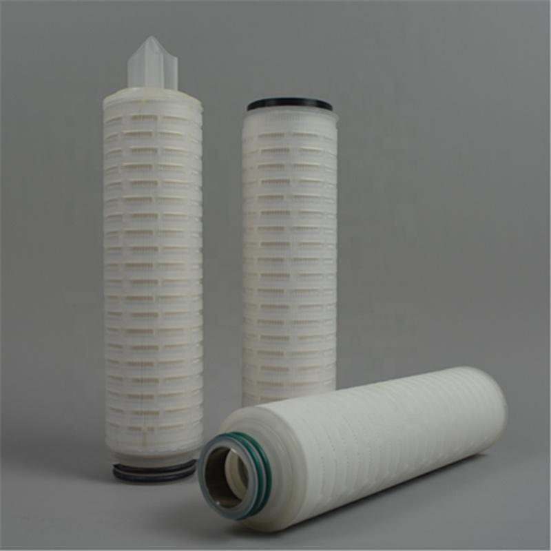 SOE DOE filter cartridge pleated PP/PTFE/PES type wine/beverage/beer filter cartridge