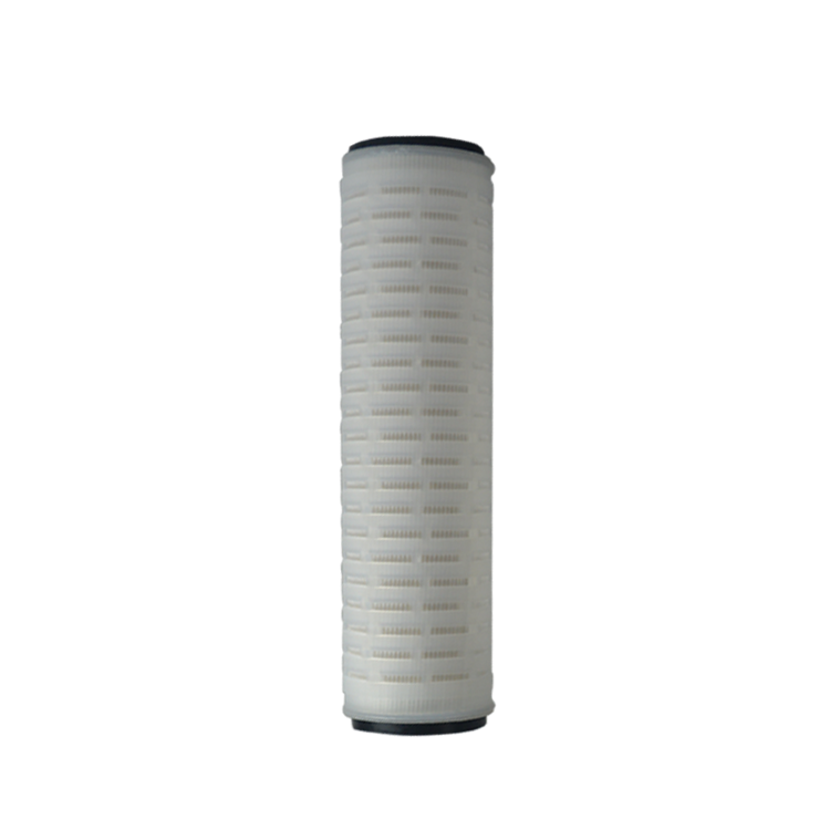 OEM size 10 20 30 40 inch 5 micron water pleated filter cartridge with stainless steel core