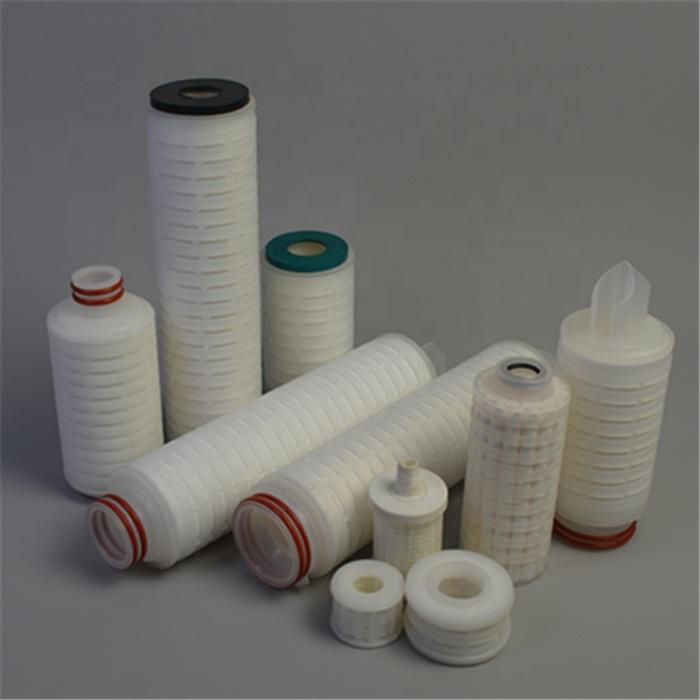 Manufacturer PP Pleated Filter Melt Blown Sediment Water Cartridge for Drinking/Wine/Juice/Beer/Chemical liquid Filtration