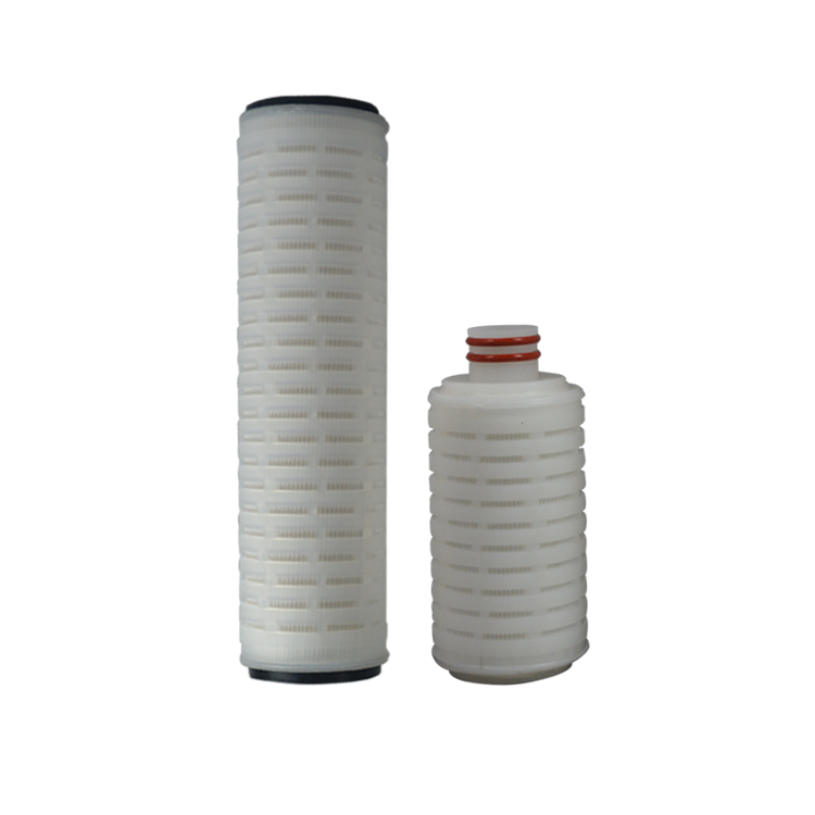 10 inch pp pleated filter cartridge for mineral water treatment plant