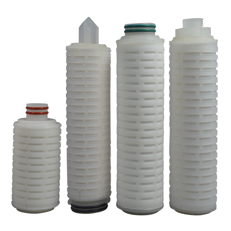 High quality cheap filter cartridges pleated cartridge filter gasket