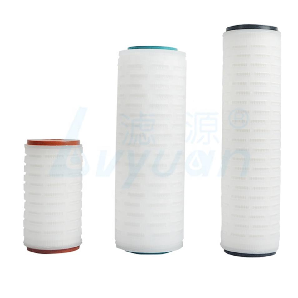 0.1 0.2 0.45 0.65 1 3 5 micron pp pleated cartridge filter for sea water filtration