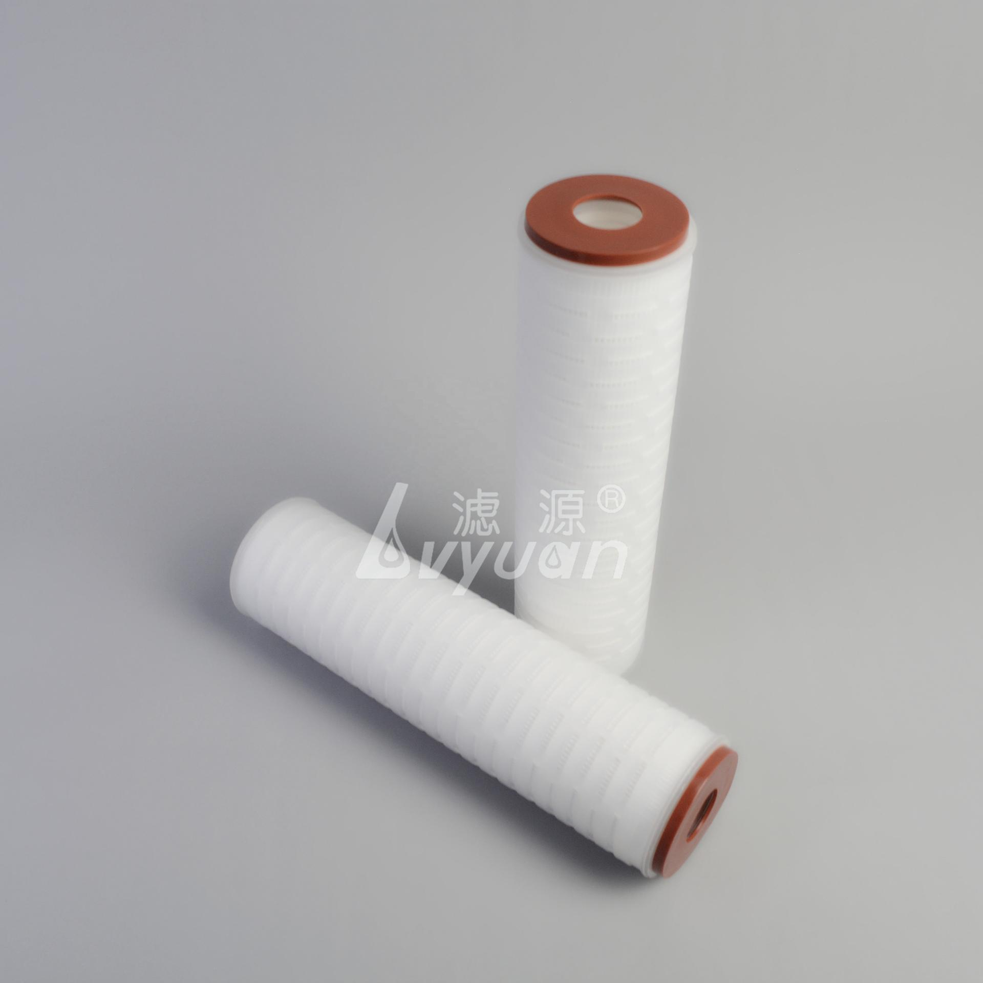 1 box/50/pcs 10 inch polypropylene pleated filter cartridge/membrane filter for water filtration