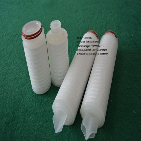 0.2 micron pvdf filter cartridge for industrial filter