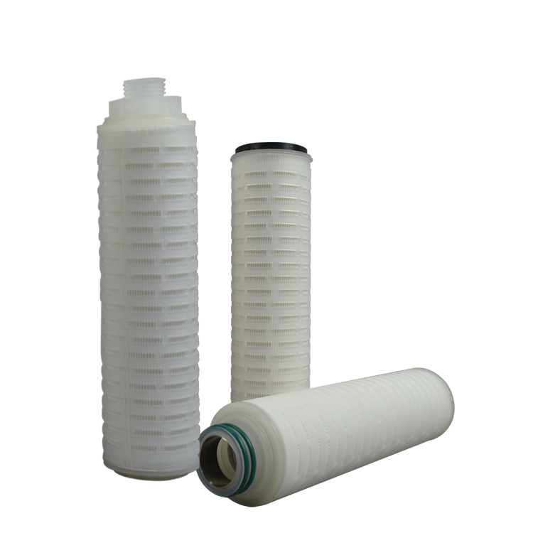 Wholesale price pp melt blown pleated filter cartridge