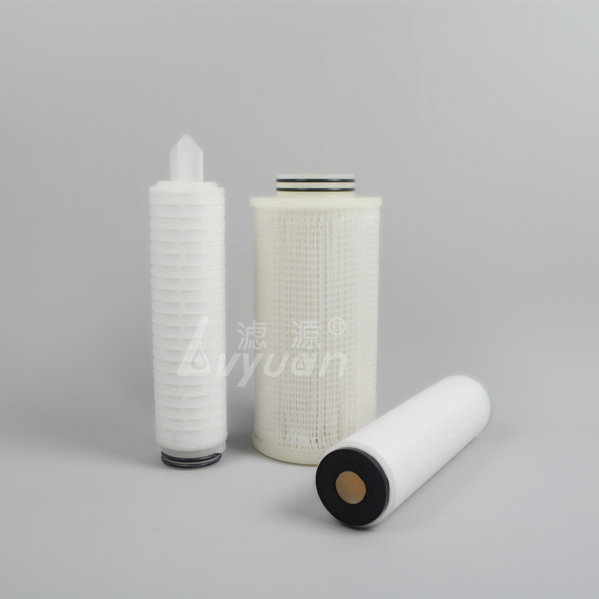 Hot sale PP Pleated water filter Cartridges /code 7 filter cartridge for water filtration