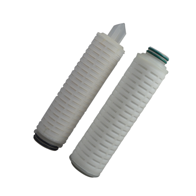 Chinese high quality refillable pes pleated filter cartridge