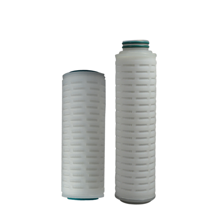 Chinese high quality 10 inch pes pleated filter cartridge