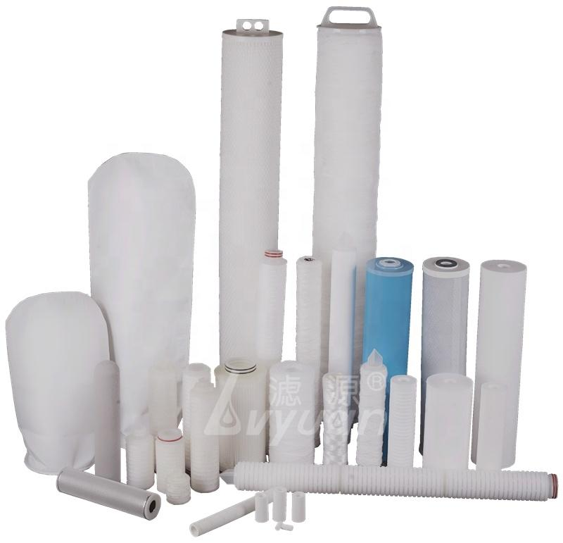 30 inch 0.45 micron pleated filter cartridge/polypropylene membrane water filter for wine/beer filtration 1 box/25pc