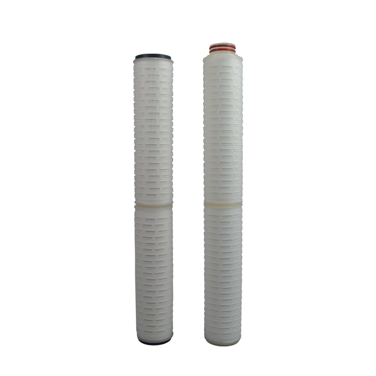 Food grade Micropore pleated 5 10 inch 0.22 micron replacement pleated cartridge filter