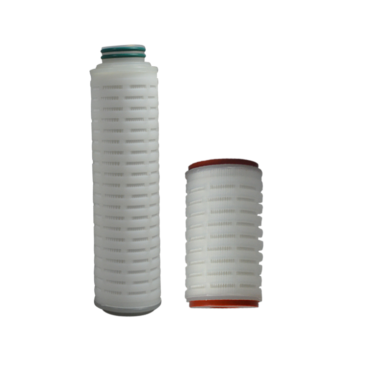 Factory price water pleated cartridge filter Custom size