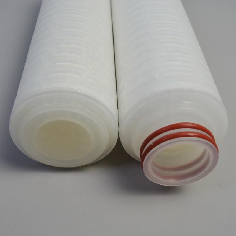 LY-PLF10 Polypropylene 10 inch pleated membrane cartridge filter for SS water filter housing