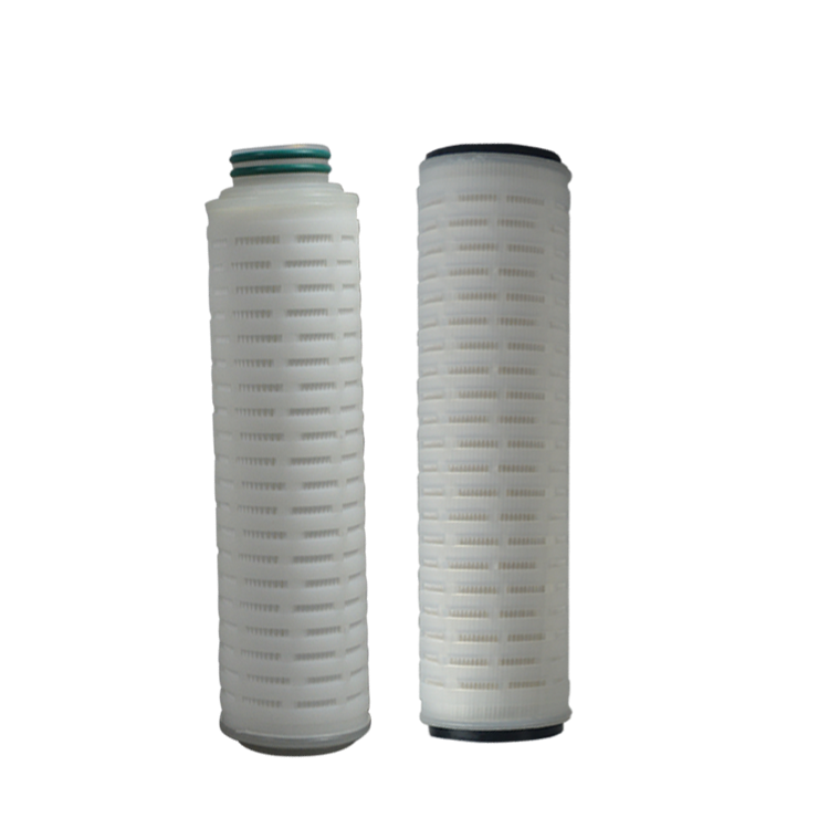 China supplier 70 inch pleated filter cartridge for power plant