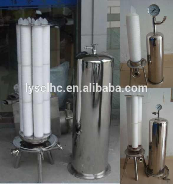 Guangdong Absolute rating 0.2 micropore fold ptfe filter element for gas/liquid filter with DOE/226/222