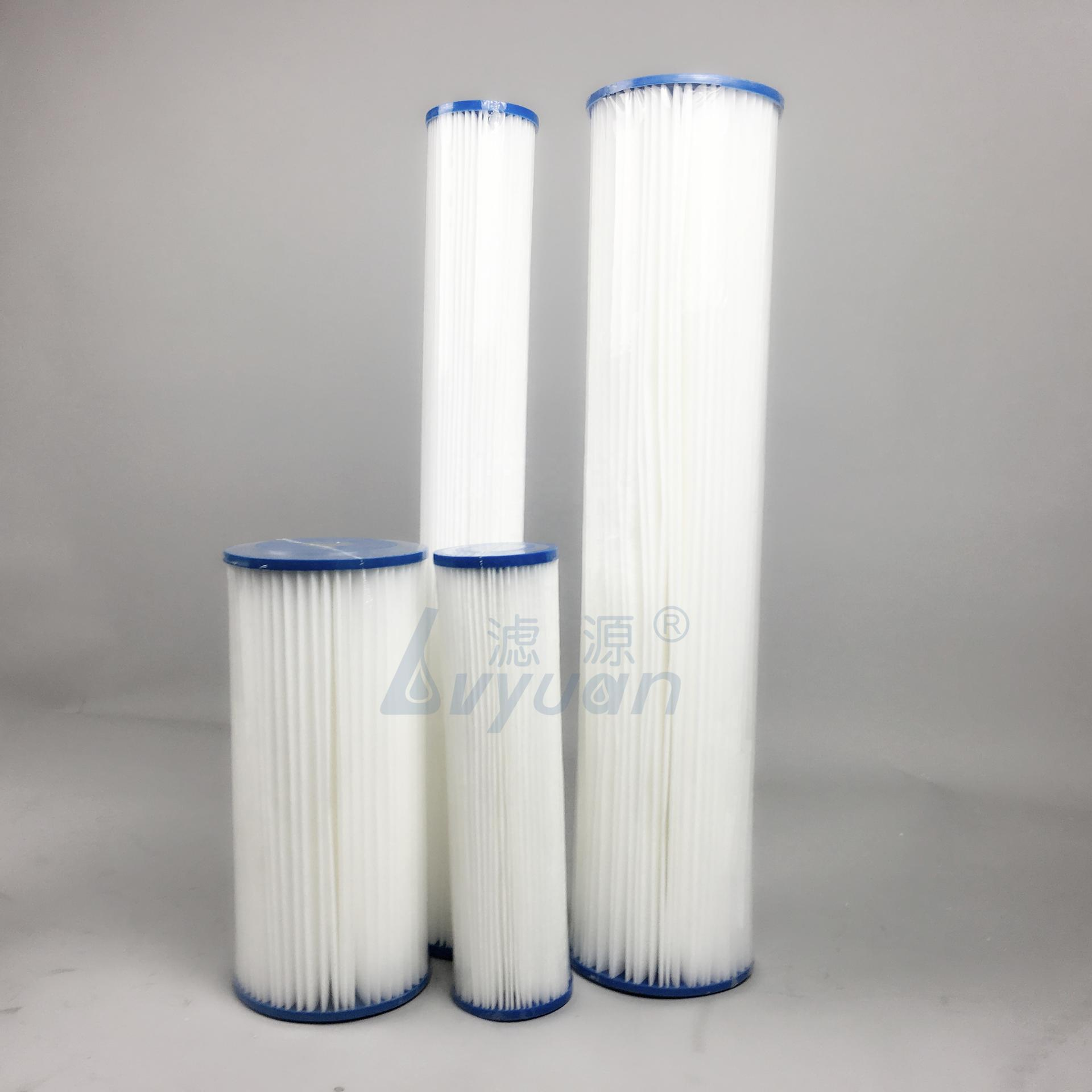 polyester filter cartridge/ spa filter cartridge for swimming pool water filtration