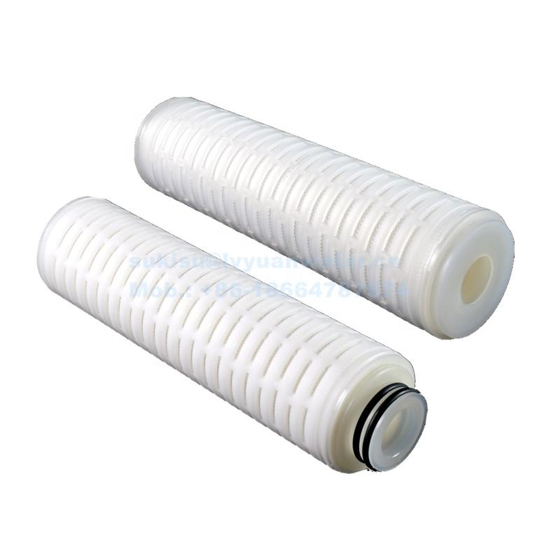PP Polypropylene pleated water filter cartridges Precision filter cartridge for stainless steel housing
