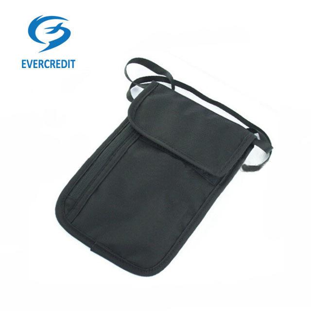 Custom portable hanging passport holder wallet bag