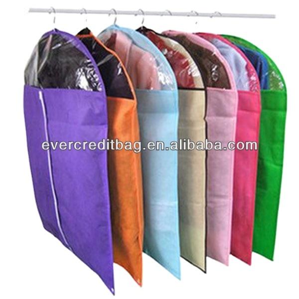 High quality pp non woven suit bag / nonwoven garment bags