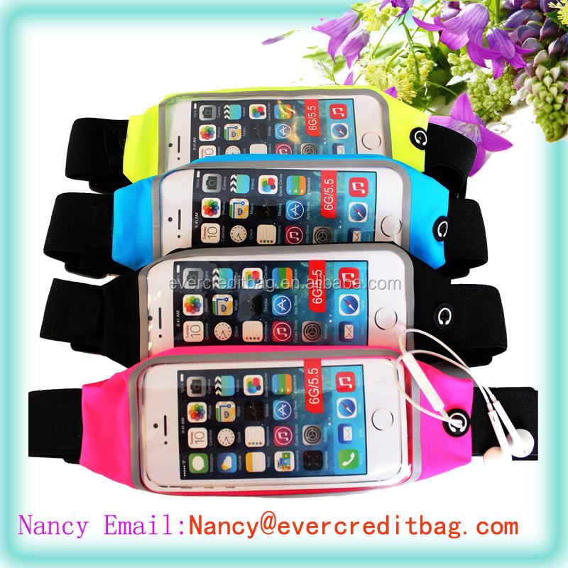 Outdoor Sport Universal Running Waist Fanny Pack Belt Pouch Case