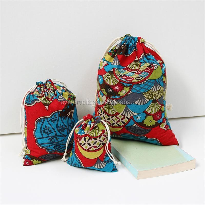 Cotton Hemp String Backpack, Just String Bag