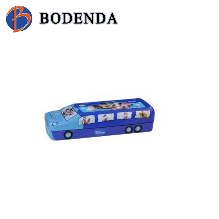 Student stationery car shape two layers pencil case