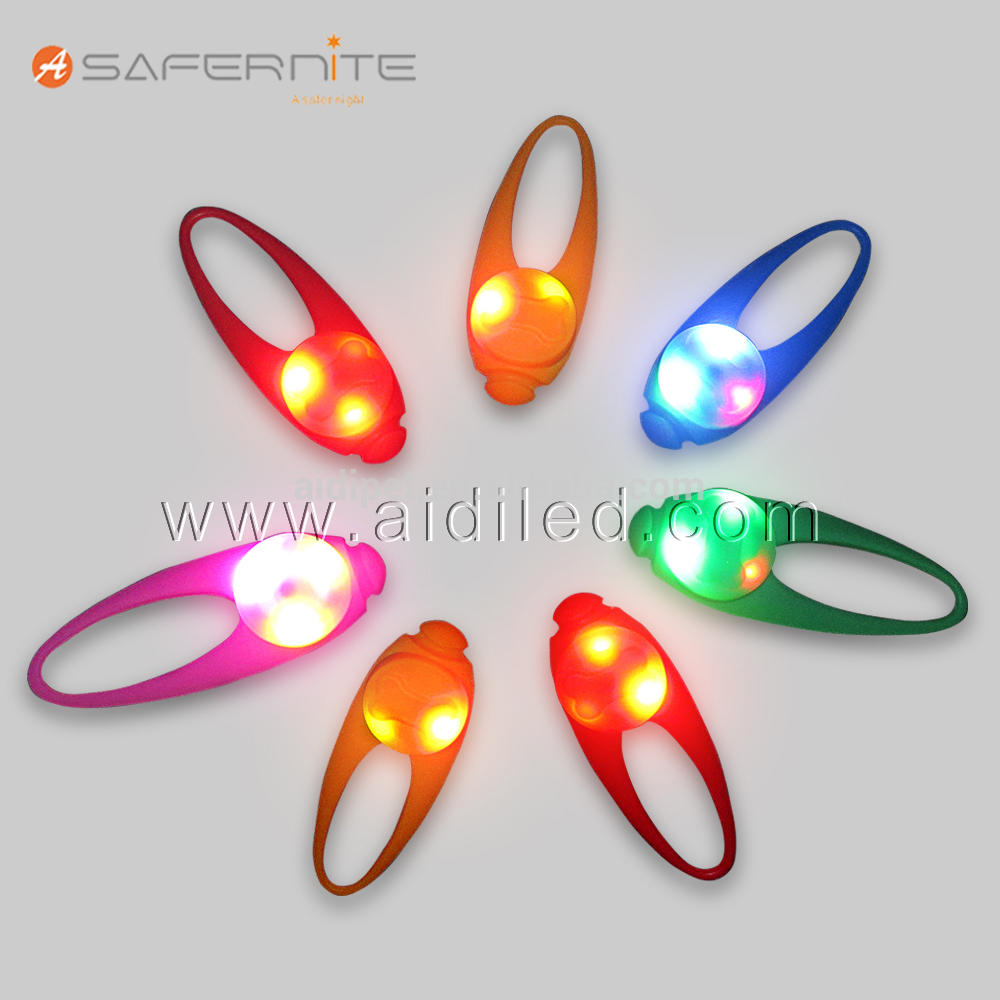High Quality LED Blinking Night Running Safety Lights Pet Id Tag Pendant